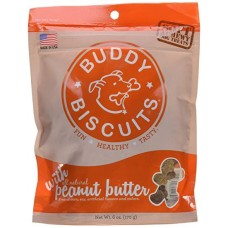 Soft and Chewy Peanut Butter Buddy Biscuits