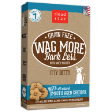 Wag More Bark Less Oven Baked Grain Free Itty Bitty Treats