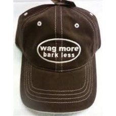 Wag More Bark Less Twill Hat